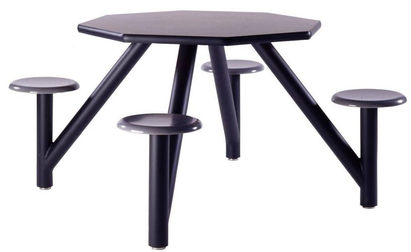 Octagon Cluster Table | 4 Seats