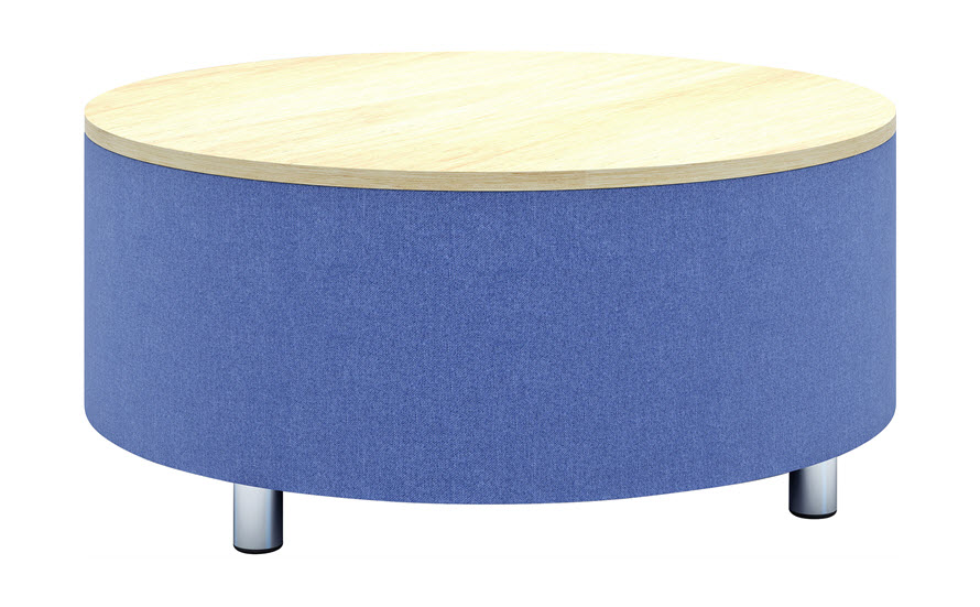 Julia Drum Coffee Table | HPL Top