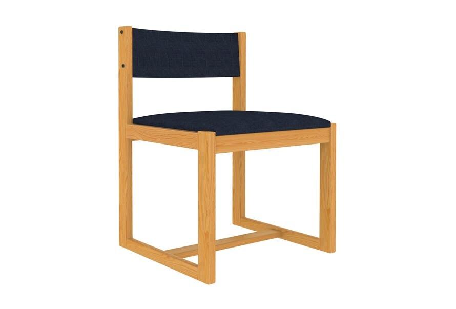 Side Chair | Sled Base | Upholstered