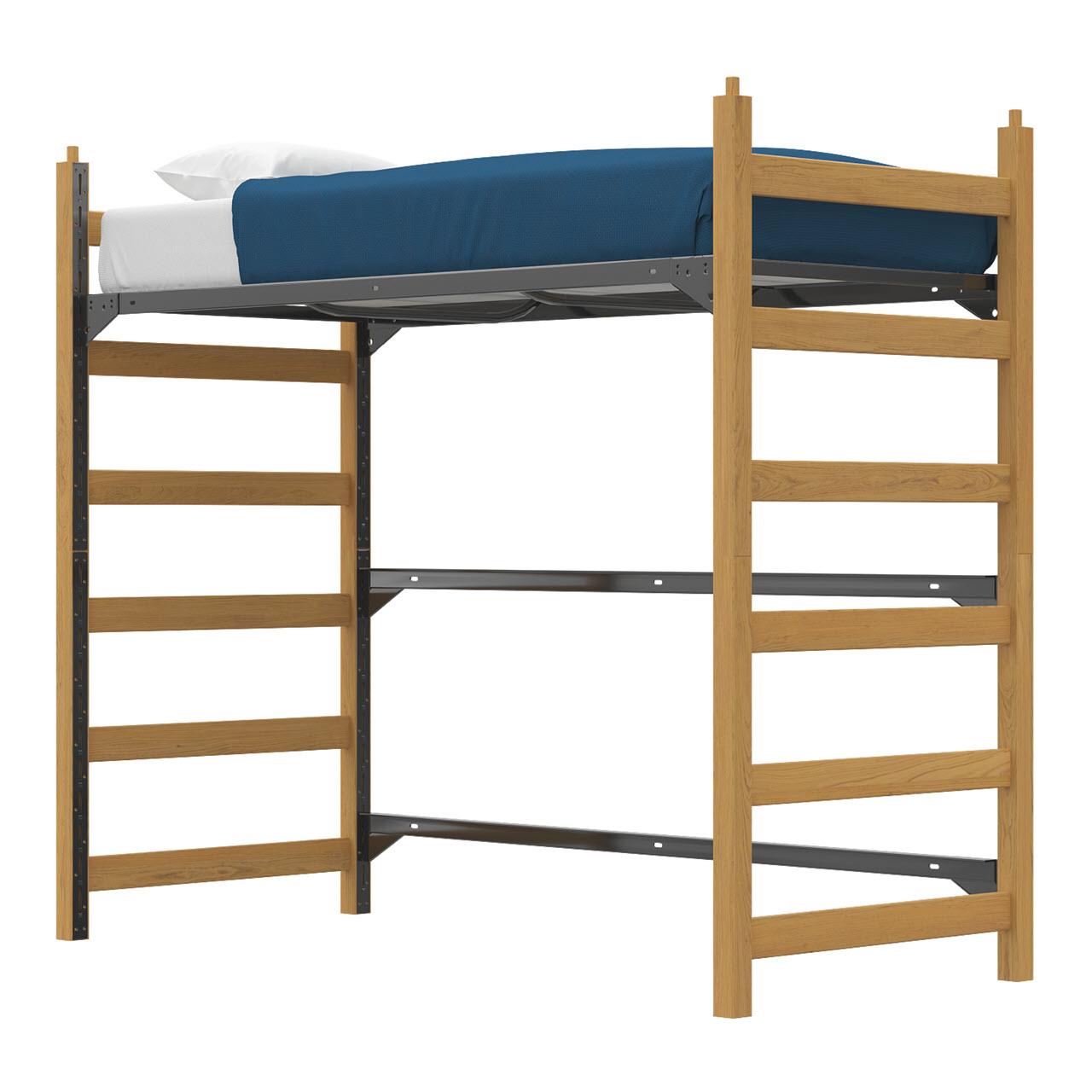 Bed | High Loft | Track Lock