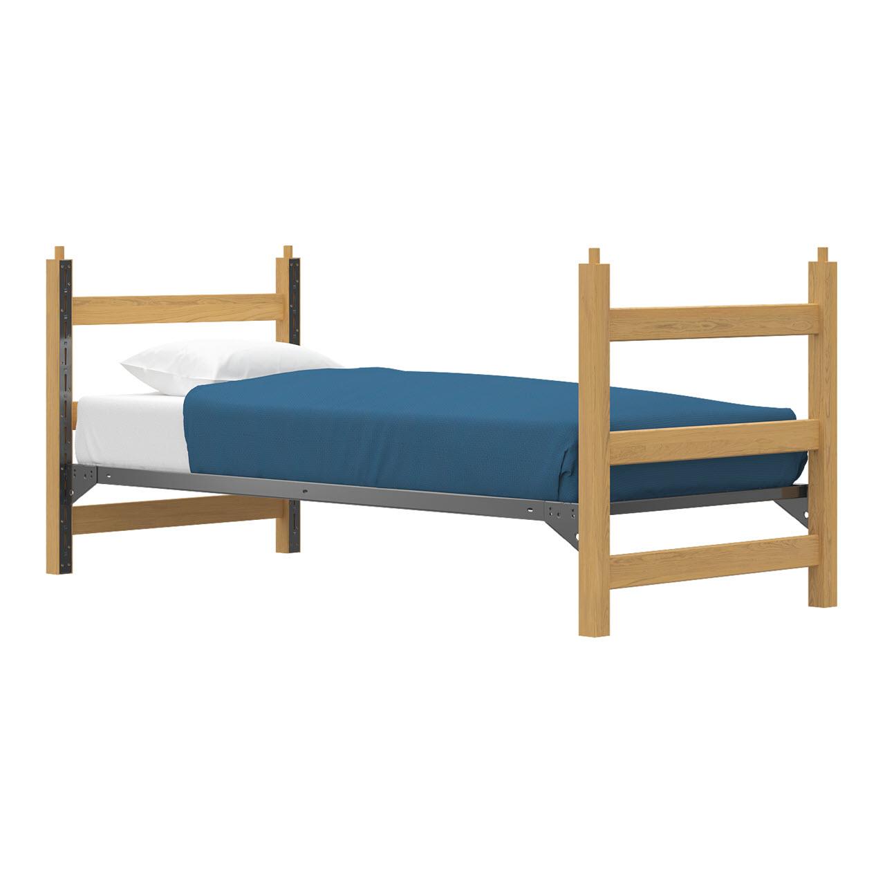 Bed | Low Loft | Track Lock