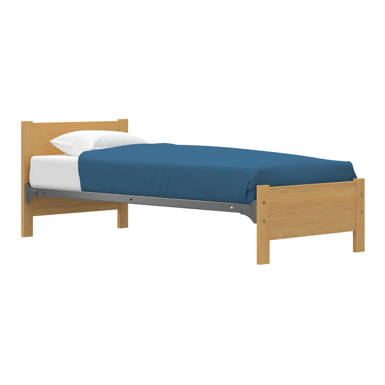 Bed   Twin   Spring Deck